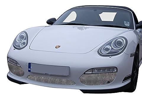 Porsche Boxster 987.2 Tiptronic - Ensemble calandre avant - Finition argent (2009 to 2013)