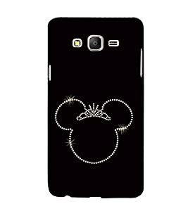 FUSON Beauty Queen Crown 3D Hard Polycarbonate Designer Back Case Cover for Samsung Galaxy On5 Pro (2015) :: Samsung Galaxy On 5 Pro (2015)