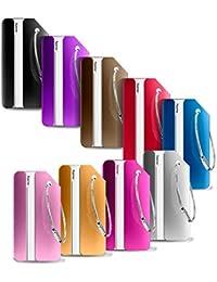 Etiquetas para equipaje del viaje de aleación de aluminio, PAMIYO 9 piezas con diferentes colores