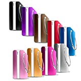 Etichette Viaggio, PAMIYO 9 Pezzi Etichette Valigia in Alluminio per Identificare Bagagli Viaggio bagagli Tag (9 colori diversi)