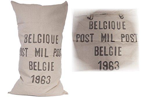 Belgischer Militär Postsack natur Packsack Rupfensack