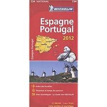 Carte NATIONAL Espagne, Portugal 2012