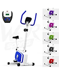 We R Sports Heimtrainer Fahrrad Magnetisch Innen- Übung Fahrrad Zuhause Fitness Cardio- Training Maschine (Blau)