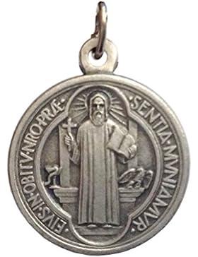 Medaille von der Heilige Benedikt - Medaillen von Schutzheiligen
