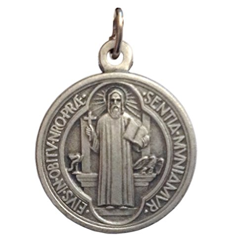 Medaille St. Benedikt (Medaille von der Heilige Benedikt - Medaillen von Schutzheiligen)