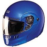 Studds Full Face Helmet Ninja 3G (Eco Flame Blue, L)
