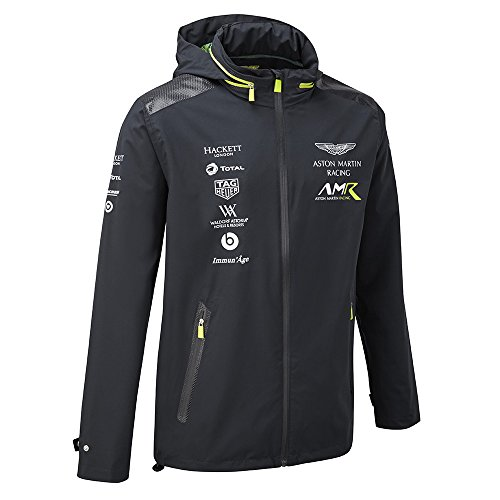 ASTON MARTIN 2018 Racing Team Herren Leichte Jacke Coat Größen XS-XXXL, Navy, Mens (M) Chest 38-40 inches