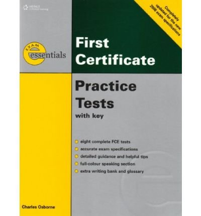 [(Essential Practice Tests: FCE with Answer Key)] [Author: Charles Osbourne] published on (May, 2008)