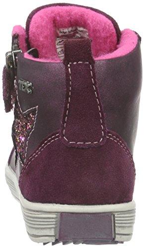 Indigo Mädchen Bootie Hohe Sneakers Violett (810 PURPLE VL)