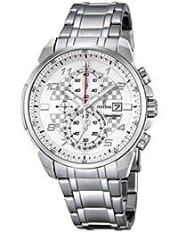 Festina Herren-Armbanduhr Chronograph Quarz Edelstahl F6842/1