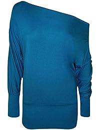 a417e75f6478 Amazon.co.uk  Turquoise - Long Sleeve Tops   Tops