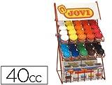 Jovi Farbmischmulden–Präsentationsständer, 50x 35ml (510)