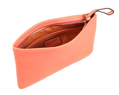 SAGEBROWN Relaxed Clutch Bag Peachy Pink