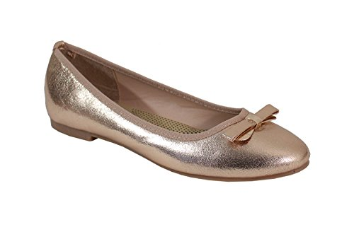 By Shoes Ballerine Donna Champagne