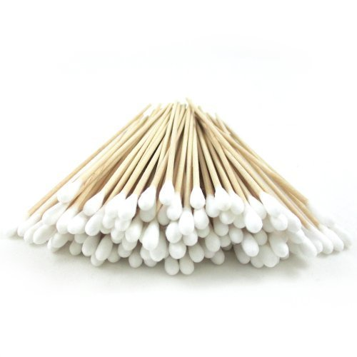 200-pc-cotton-swab-applicator-q-tip-swabs-6-extra-long-wood-handle-sturdy-new-by-atb