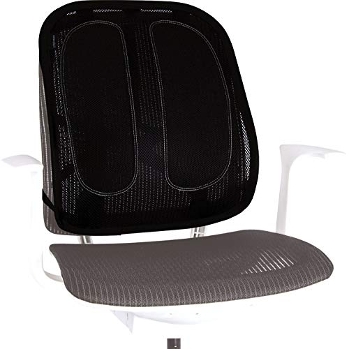 Fellowes 9191301 Office Suites Support Dorsal en Maille pour chaise de bureau
