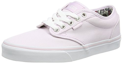 Vans Atwood, Sneakers Basses Femme Rose (Canvas/Lilac)