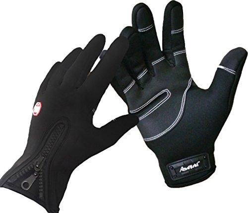 Andyshi Herren Touchscreen Handschuhe f¨¹r den Winter im handschuh Smartphone schwarz S Bk Mobile