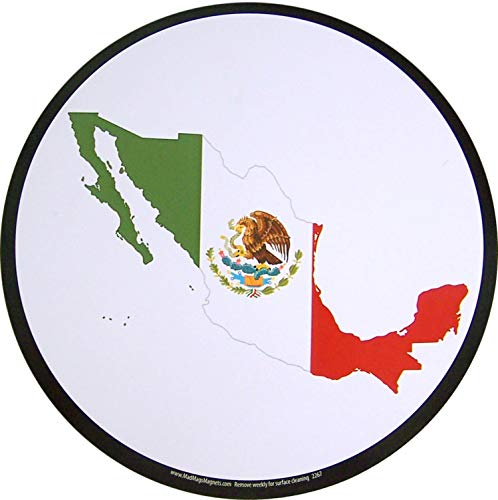 United Mexican States County Autoaufkleber Magnet, 14 cm -
