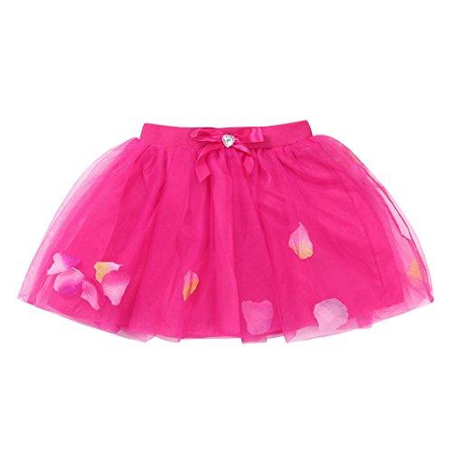 RWINDG Kleinkind Baby Kinder Mädchen Tanz Fluffy Tutu -