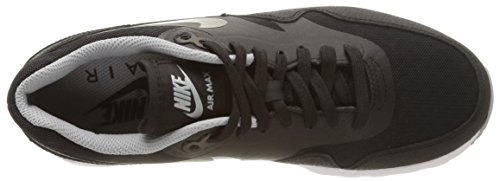 Nike W Air Max 1 Ultra Essentials, Nike air max 1 wmns ultra Ess black wolf grey 704993 004 homme multicolore (Black/Black-Wlf Gry-Mtllc Slvr)