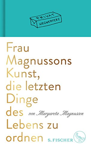 Buchseite und Rezensionen zu 'Frau Magnussons Kunst, die letzten Dinge des Lebens zu ordnen' von Margareta Magnusson