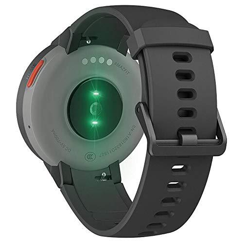 AMAZFIT Verge Smartwatch con Schermo AMOLED da 1,3 Pollici, per effettuare chiamate, modalità Sportiva Multipla, GPS Smart Watch Versione Internazionale
