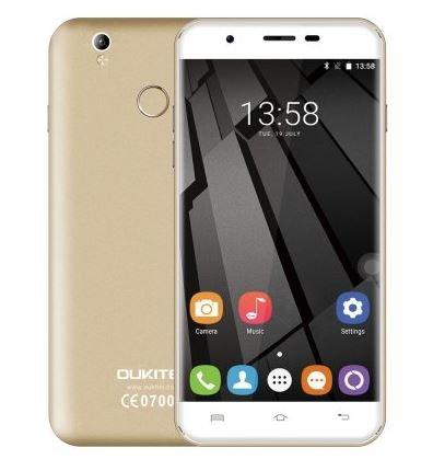 Oukitel U7 Plus - 5,5 pollici HD Android 6.0 4G smartphone quad-core a 1,3 GHz 2 GB di RAM 16 GB ROM...