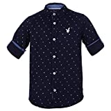 #4: Urban Scottish Boys Printed Cotton Casual Shirt