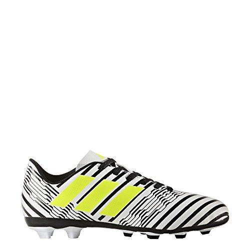 adidas Jungen Nemeziz 17.4 Fxg J Fußballschuhe Mehrfarbig (Ftwr White/solar Yellow/core Black)