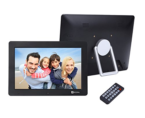 Arzopa 12 Inch Widescreen Digital Photo Hd Video 1080p Frame Hi