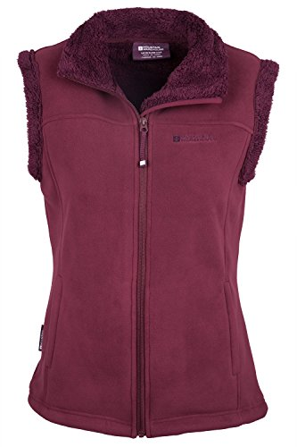 Mountain Warehouse Gilet foderato da donna Comet Fur Lined Borgogna 42