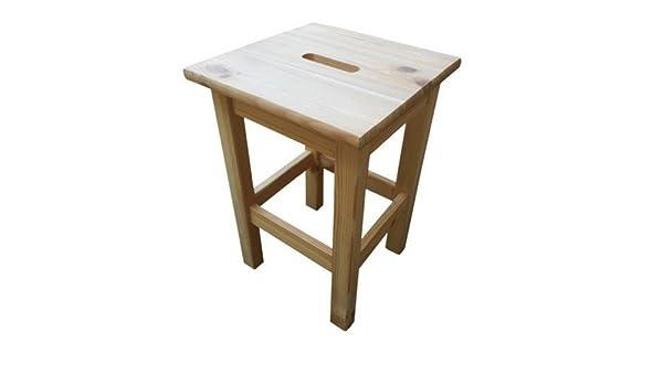 Sgabello in legno di pino amazon casa e cucina