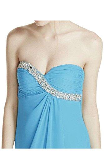 Missdressy - Robe - Trapèze - Femme Bleu - Bleu clair