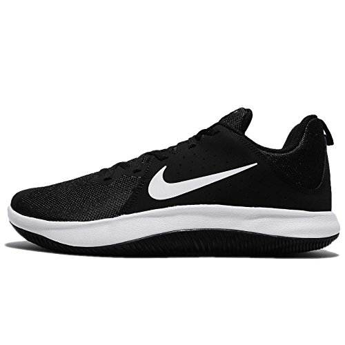 Nike Men's Fly.by Low Black/White Basketball Shoes-8 (908973-001)