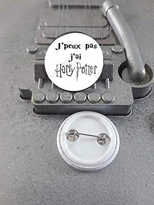 Badge 25 mm J'peux pas J'ai Harry Potter