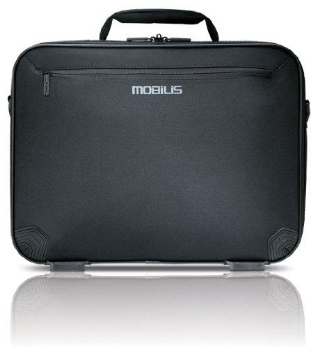 MOBILIS TheOneOne NB Tasche 35,6-40,6cm 14-16 Zoll Standardtransporttasche mit Trolleyschlaufe und zwei Zubehoertaschen Nylon