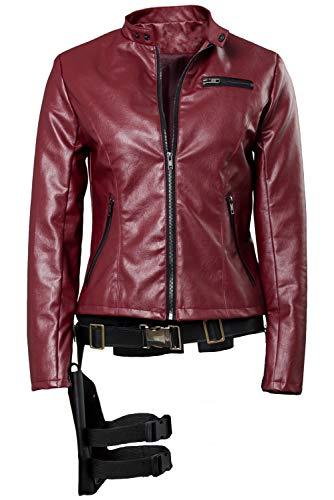 Für Erwachsene Evil Resident Kostüm - Tollstore Resident Evil 2 Remake Claire Redfield Jacke Cosplay Kostüm Damen XL