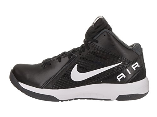Nike Mens The Air Overplay IX Wide Basketball Shoe Black/White/Anthracite/Drk