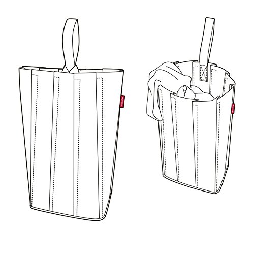 reisenthel laundrybag L basalt Maße: 45 x 65 x 24 cm , Volumen: 55 l