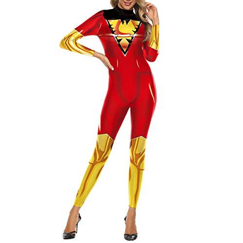 QQWE X-Men Kostüm Kleidung Superheld Cosplay Kostüm Frauen Männer Weihnachten Halloween Show Body Overalls,B-M