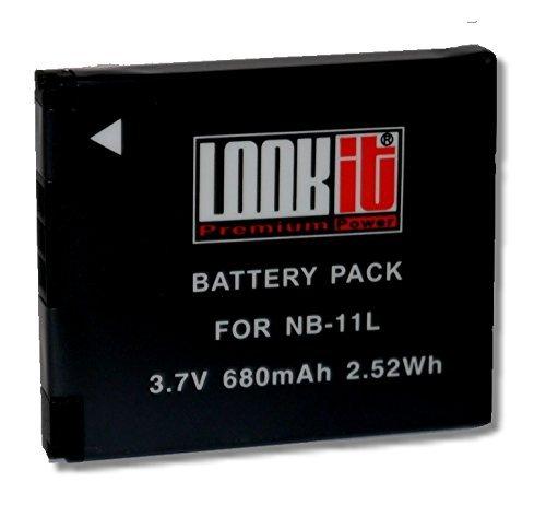 LOOKit Akku für Canon NB-11L / NB11LH für Canon IXUS 175 180 170 165 160 (1x NB-11L / NB11LH) (11l Notebook)