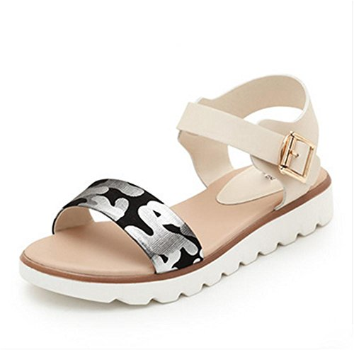 pengweiSandali semplici scarpe piane scarpe da donna incinte scarpe antisdrucciolevoli estive 1