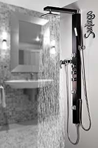 Colonne de douche en aluminium, Jets avec l'anti-calcaire de Sanlingo