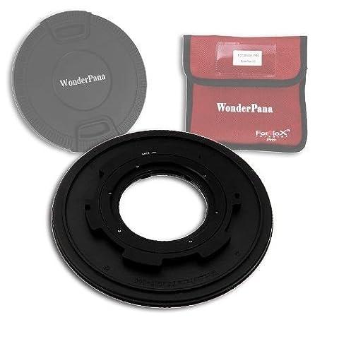 Fotodiox wonderpana 145Système de Core & Lens Cap–145mm porte filtre pour le Tokina 10–17mm f/3.5–4.5x 107de at af DX Objectif Fisheye (35mm APS-C)–wonderpana 145Système Core & Lens Cap–145mm Filtre Holder for the Tokina 10–17mm f/3.5–4.5at-x 107DX AF Objectif Fisheye (APS-C