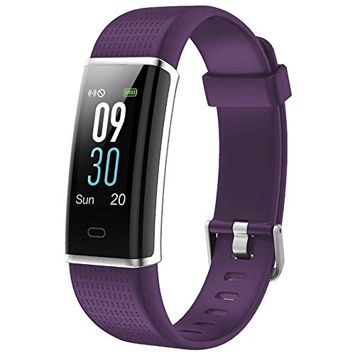 Willful Fitness Armband mit Pulsmesser,Wasserdicht IP68 Fitness Tracker Farbbildschirm Aktivitätstracker Schrittzähler mit 14 Trainingsmodi Vibrationsalarm Anruf SMS Beachten mit iOS Android Handy