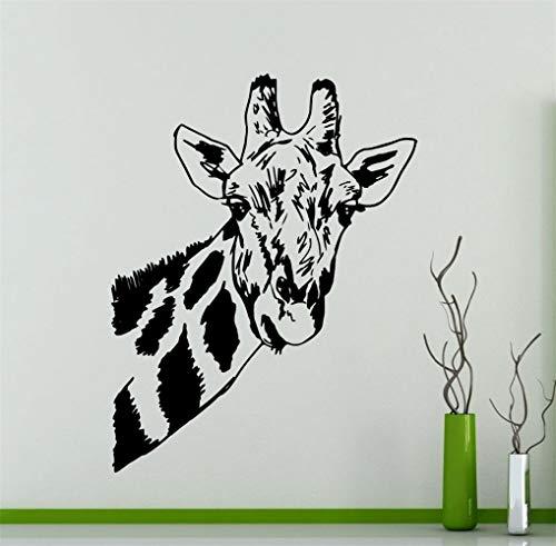 Wandtattoo Kinderzimmer Neu Giraffe Cute Head Art Pattern Wand Special Home Zimmer Animal Series Decal Wohnzimmer Kinderzimmer Babyzimmer -