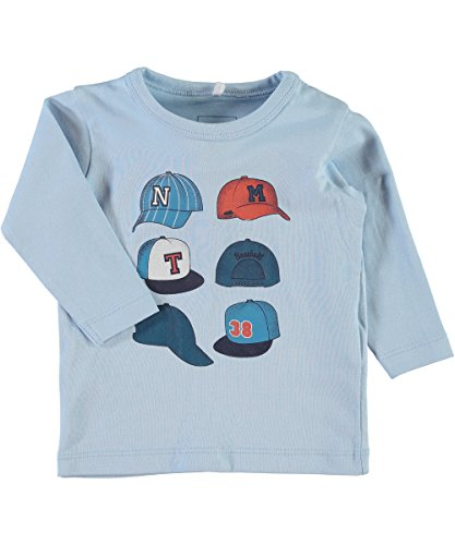 name it, Baby Jungen Shirt, Modell nitLester, Baseball, organic Cotton (68) (Shirt Baseball Baby)