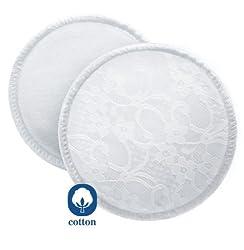 Philips Avent SCF155/06 Waschbare Stilleinlagen, 6 Stück, weiß