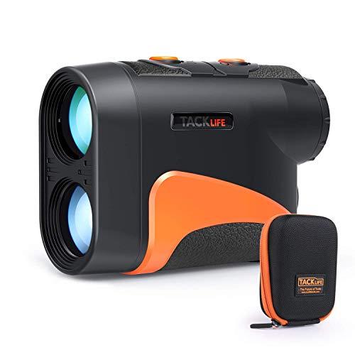 TACKLIFE Telemetro Laser da Golf, MLR04 / Telescopio monoculare Ingrandimento 6x24mm. Misura la Distanza Fino a 656yd / 600m. Rivestimento Completamente Ottico Multistrato